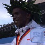 Eliud Kipchoge Sets Fastest Ever Marathon Time In Berlin?