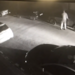 Gang Checks For Unlocked Cars On A Harborough Street