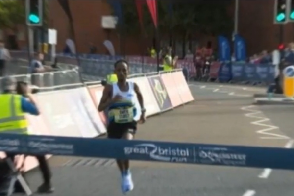 Omar Ahmed Disqualified After Winning The Bristol Half Marathon